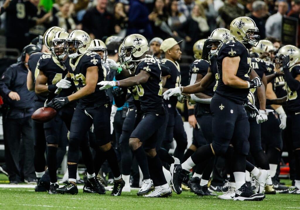 New Orleans Saints cornerback Marshon Lattimore