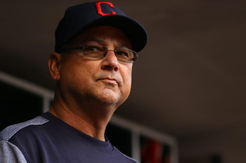 Cleveland Indians manager Terry Francona 2017 MLB Postseason