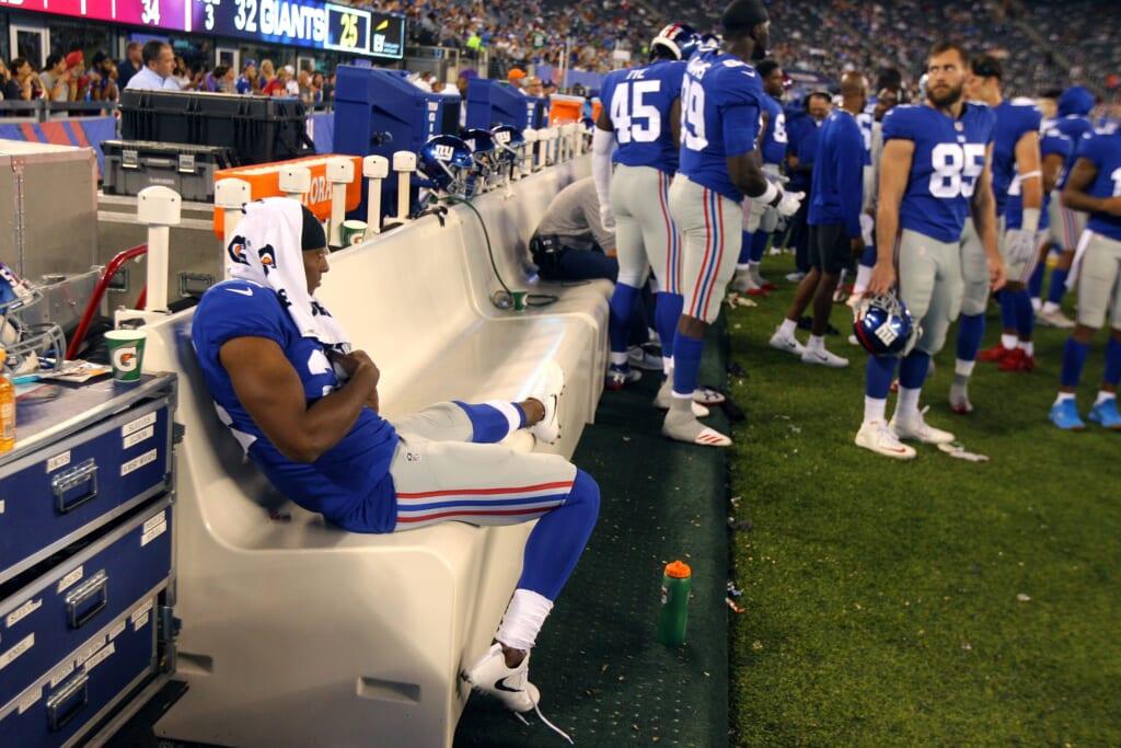 New York Giants cornerback Eli Apple