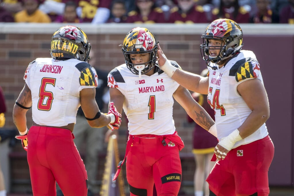 Maryland receiver D.J. Moore