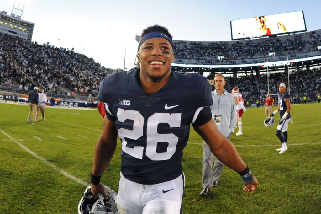 Penn State running back Saquon Barkley
