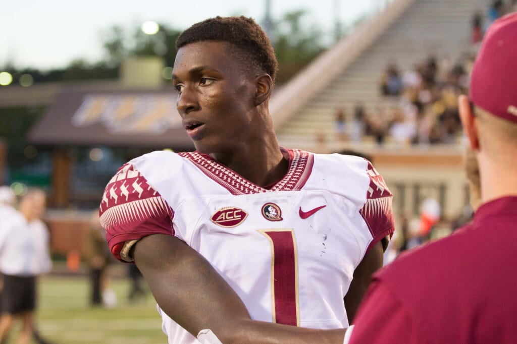 Florida State quarterback James Blackman