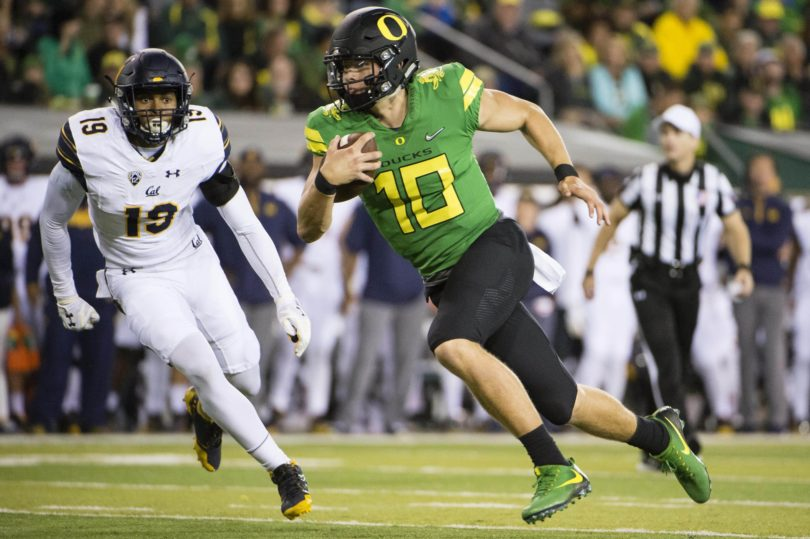 Justin Herbert ruled out with broken collarbone
