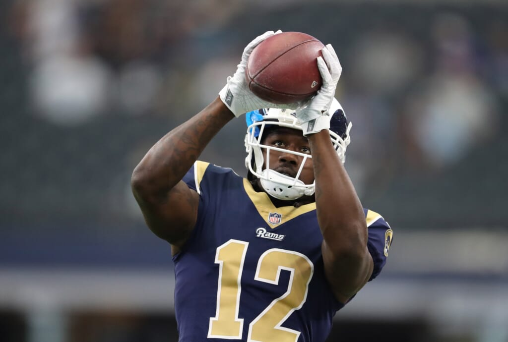 Los Angeles Rams receiver Sammy Watkins