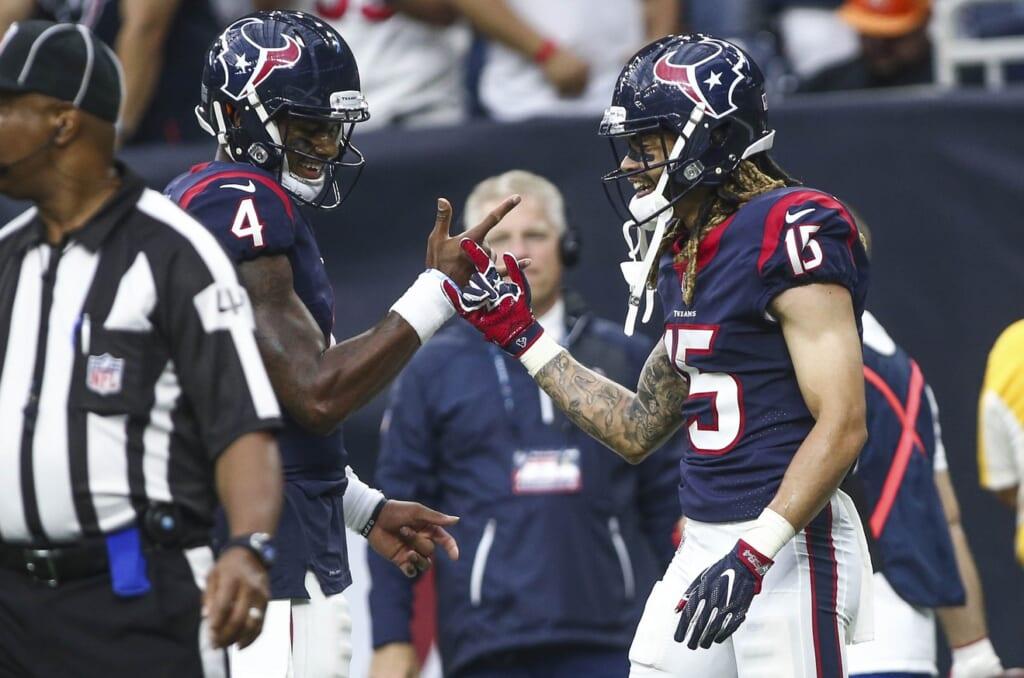 Houston Texans quarterback Deshaun Watson and receiver Will Fuller
