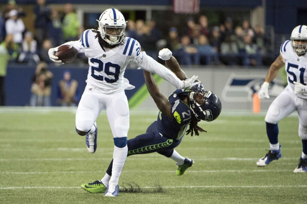 Indianapolis Colts rookie safety Malik Hooker