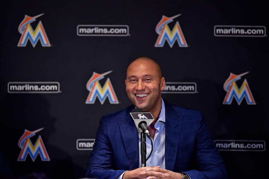 Miami Marlins CEO Derek Jeter