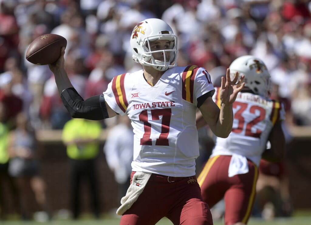 Iowa State quarterback Kyle Kempt in college football Week 6