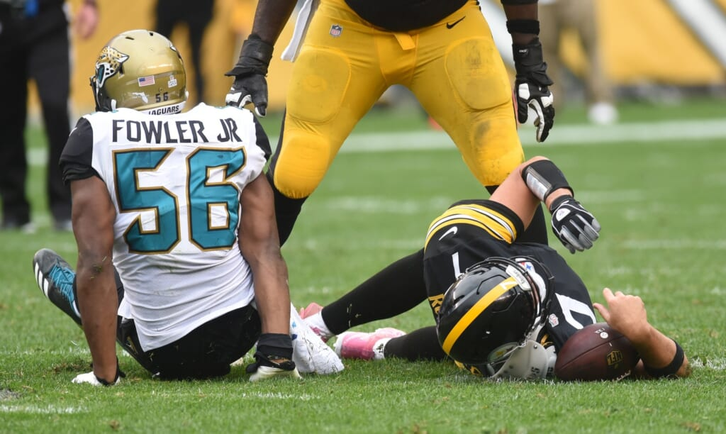Morgan Moses would help protect an immobile Ben Roethlisberger.