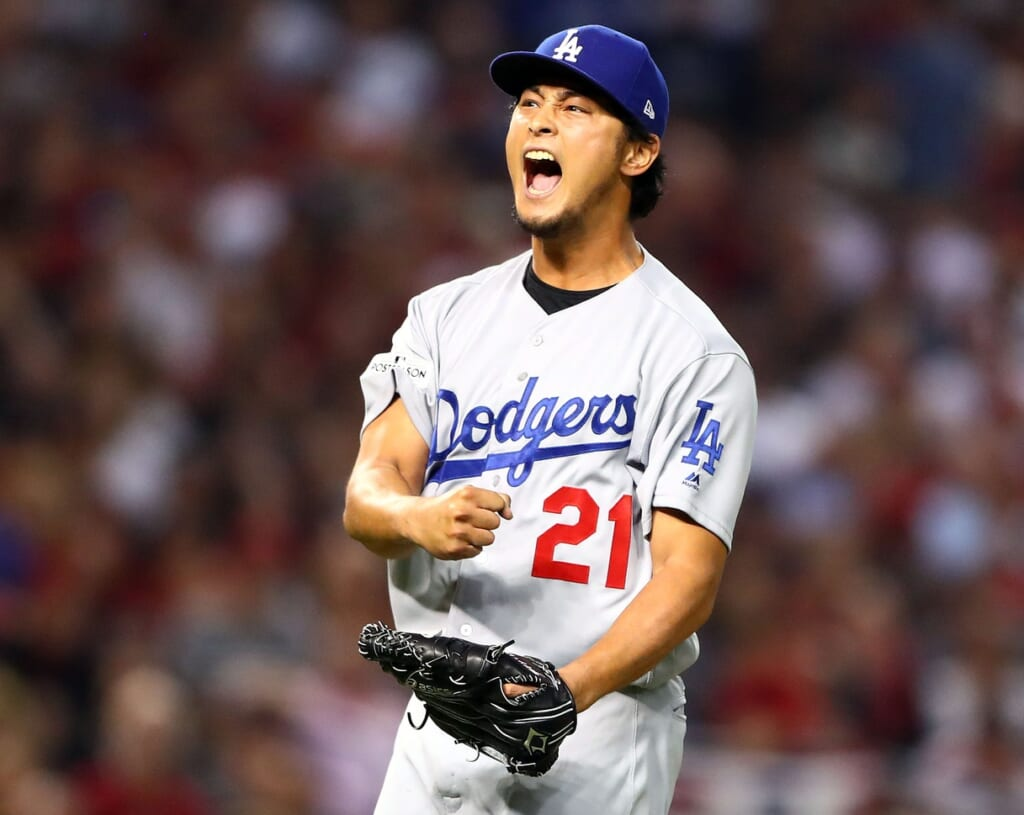 Dodgers pitcher Yu Darvish