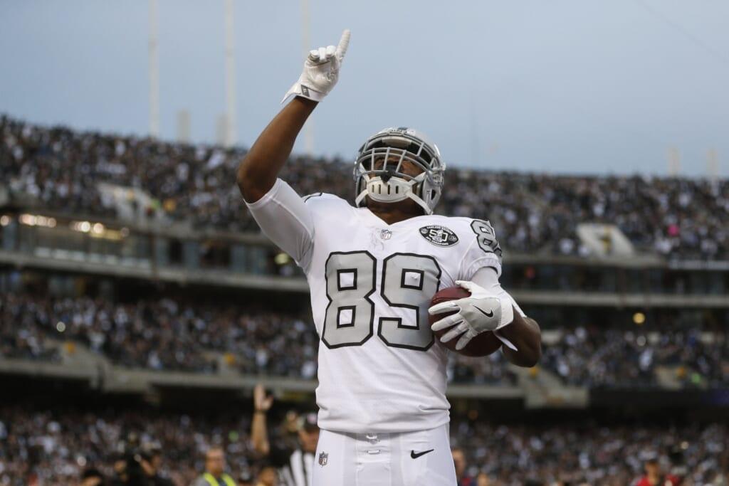 Oakland Raiders receiver Amari Cooper