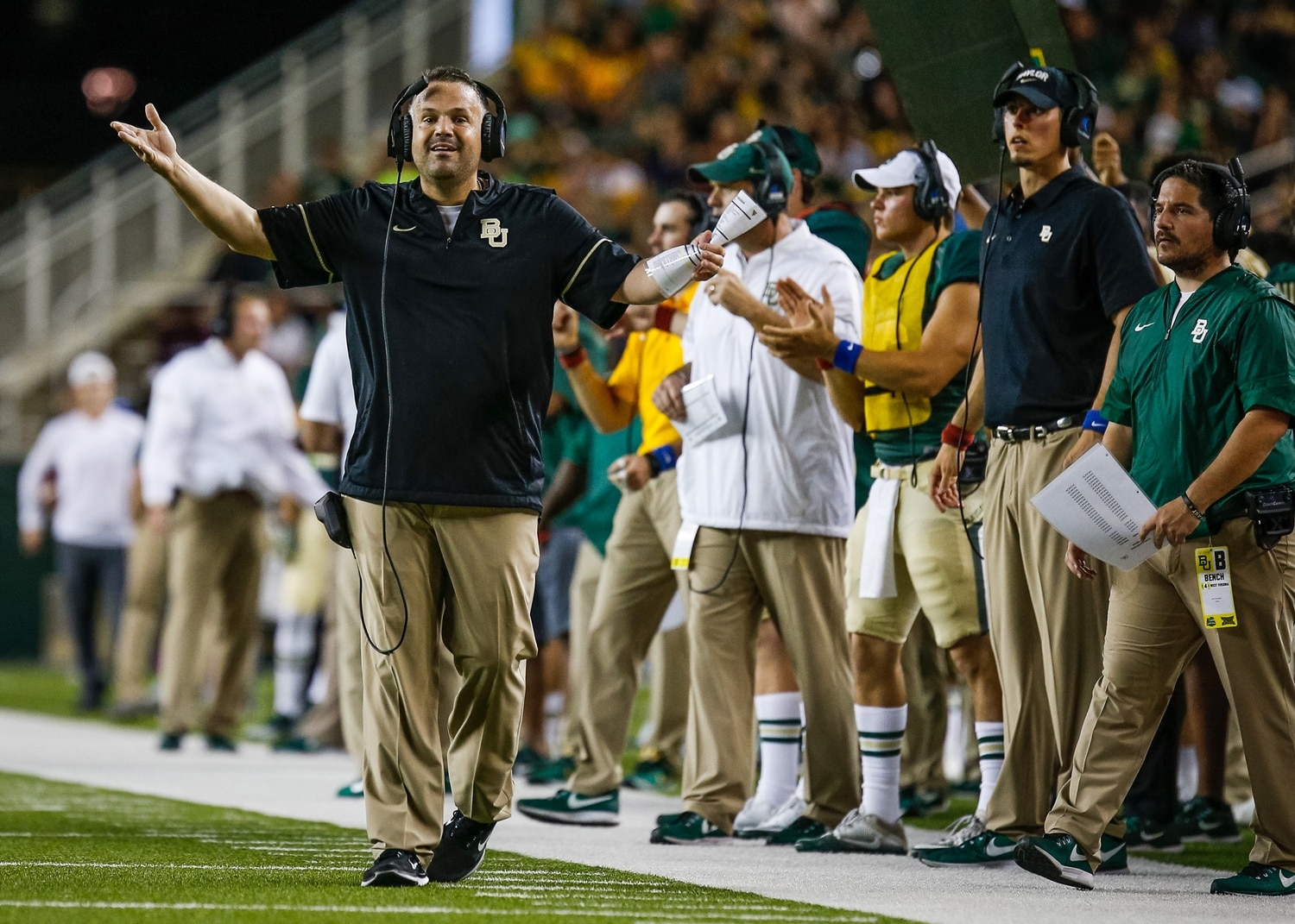 Report Matt Rhule Not Leaving Baylor For The Jets