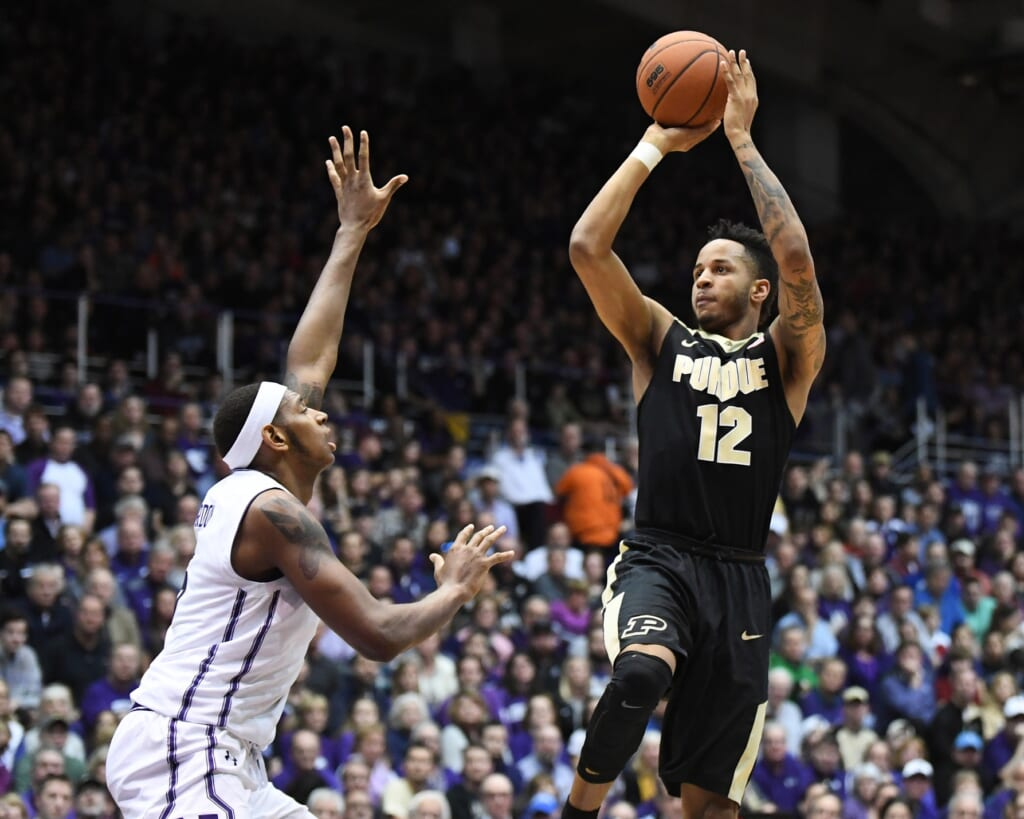 Purdue forward Vincent Edwards