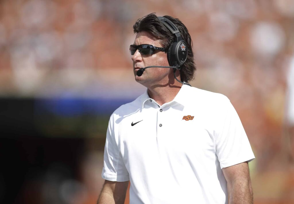 Mike Gundy offers quote of the year showing disdain for ...