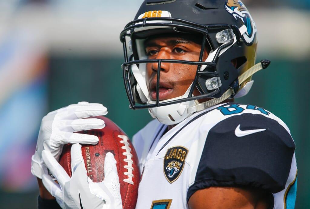 Jacksonville Jaguars receiver Keelan Cole
