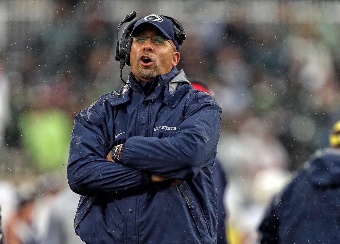 Penn State coach James Franklin