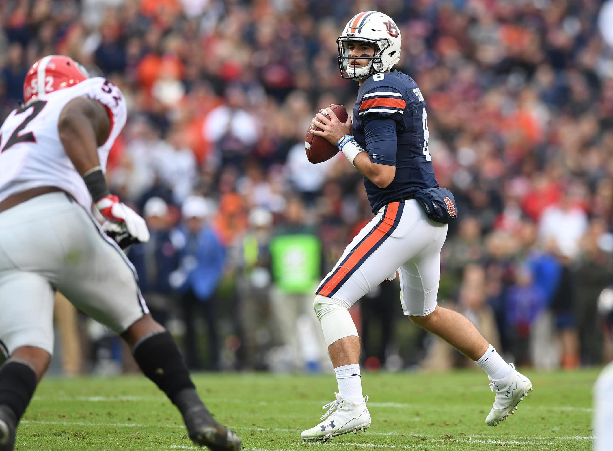 Auburn quarterback Jarrett Stidham is one of the most important players in championship weekend