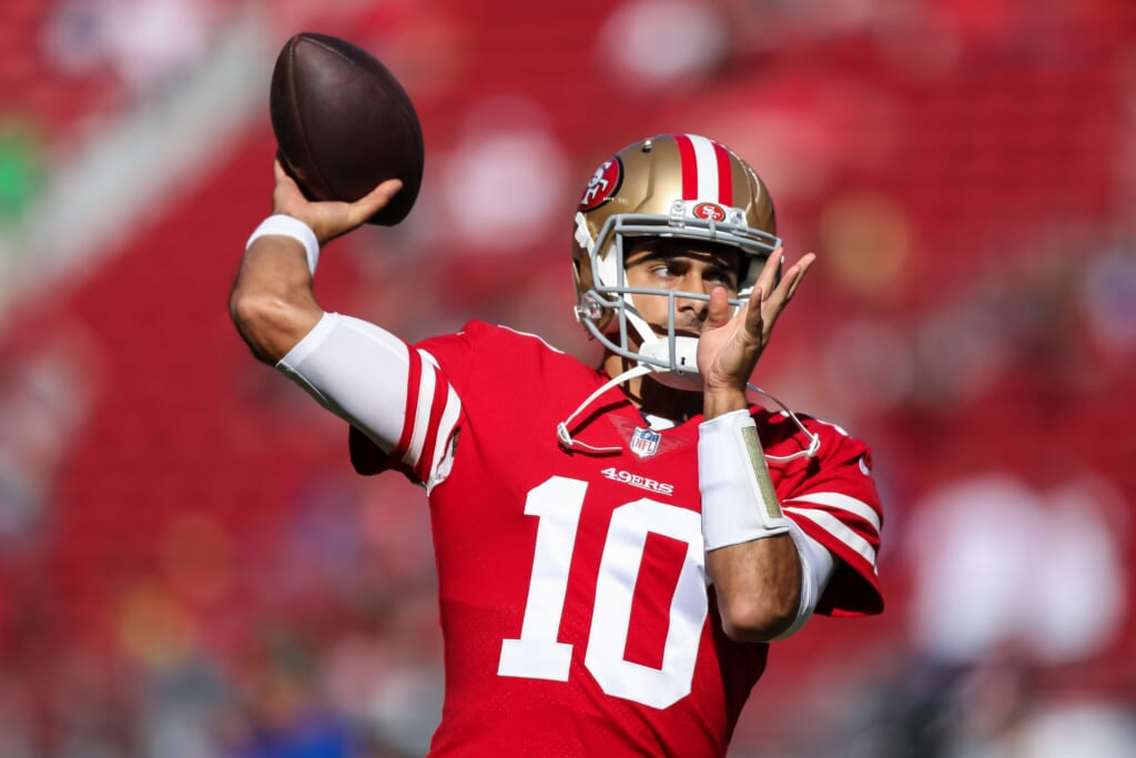 NFL trades: Players who could be wearing new uniforms in 2021 - Jimmy Garoppolo