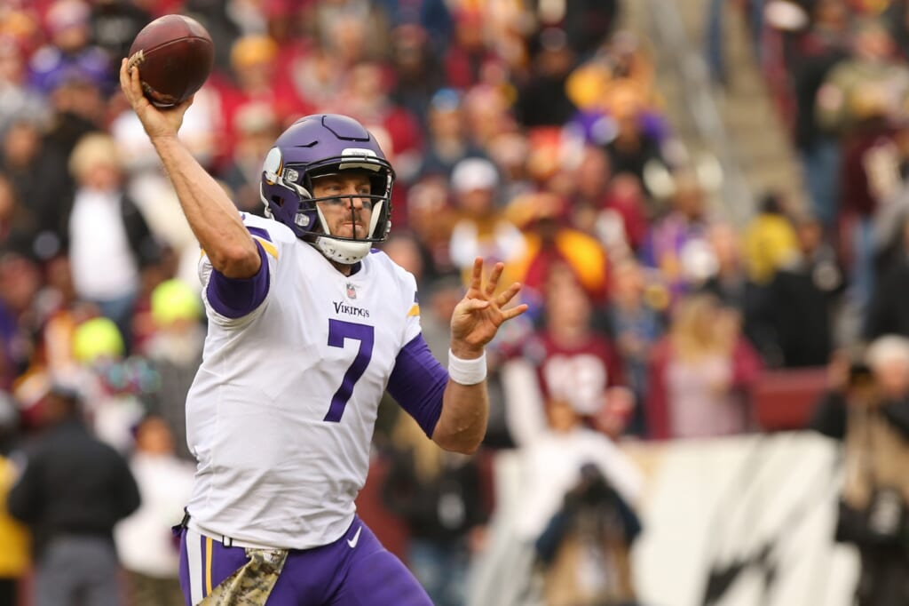 Vikings quarterback Case Keenum