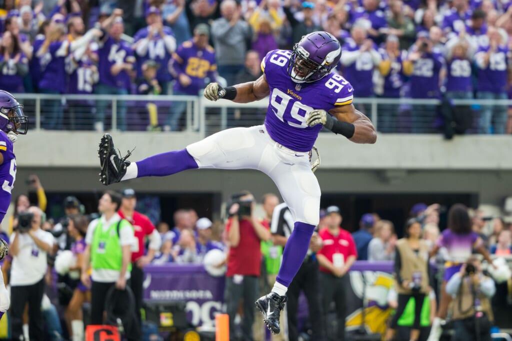 Minnesota Vikings defensive end Danielle Hunter in NFL Week 11