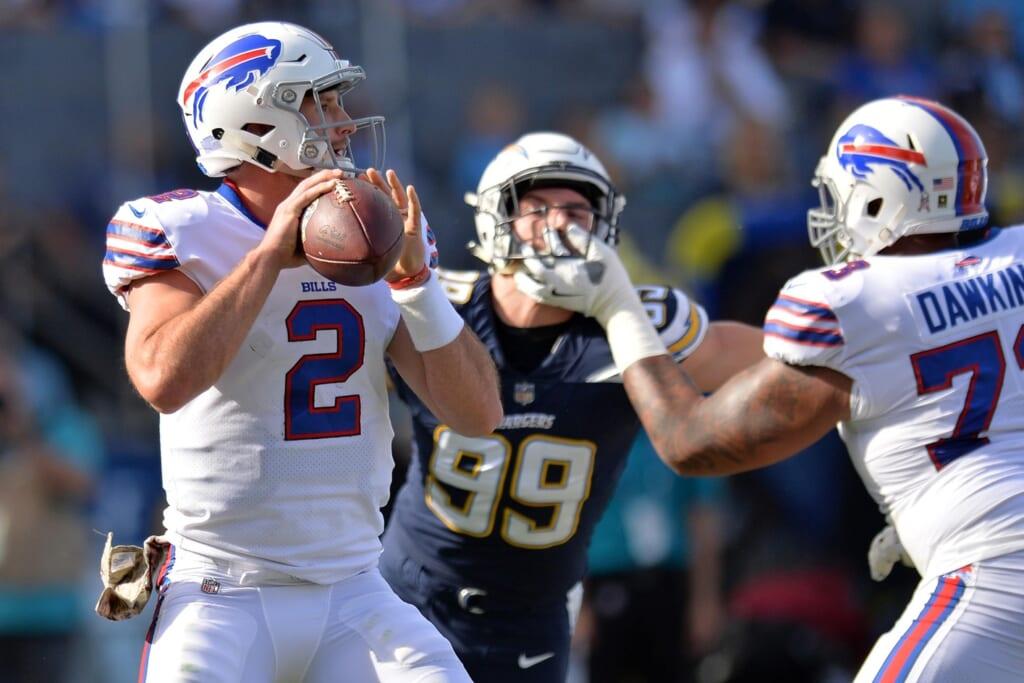 Bills quarterback Nathan Peterman