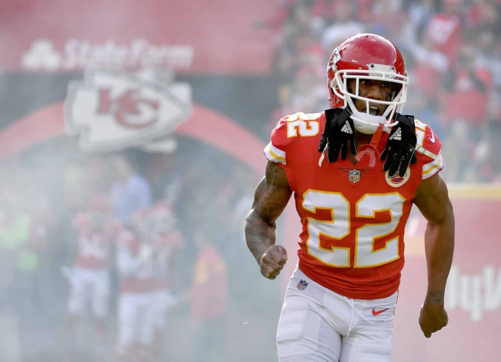 Chiefs cornerback Marcus Peters