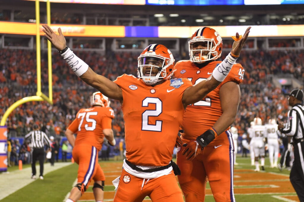 Kelly Bryant and the Clemson Tigers dominated the ACC Championship Game on championship weekend
