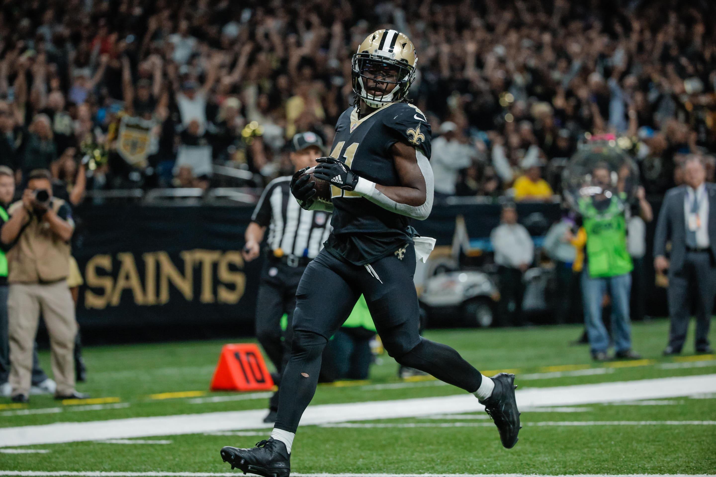 best service d3771 f4bdb Alvin Kamara reached unprecedented NFL milestone in Week 4