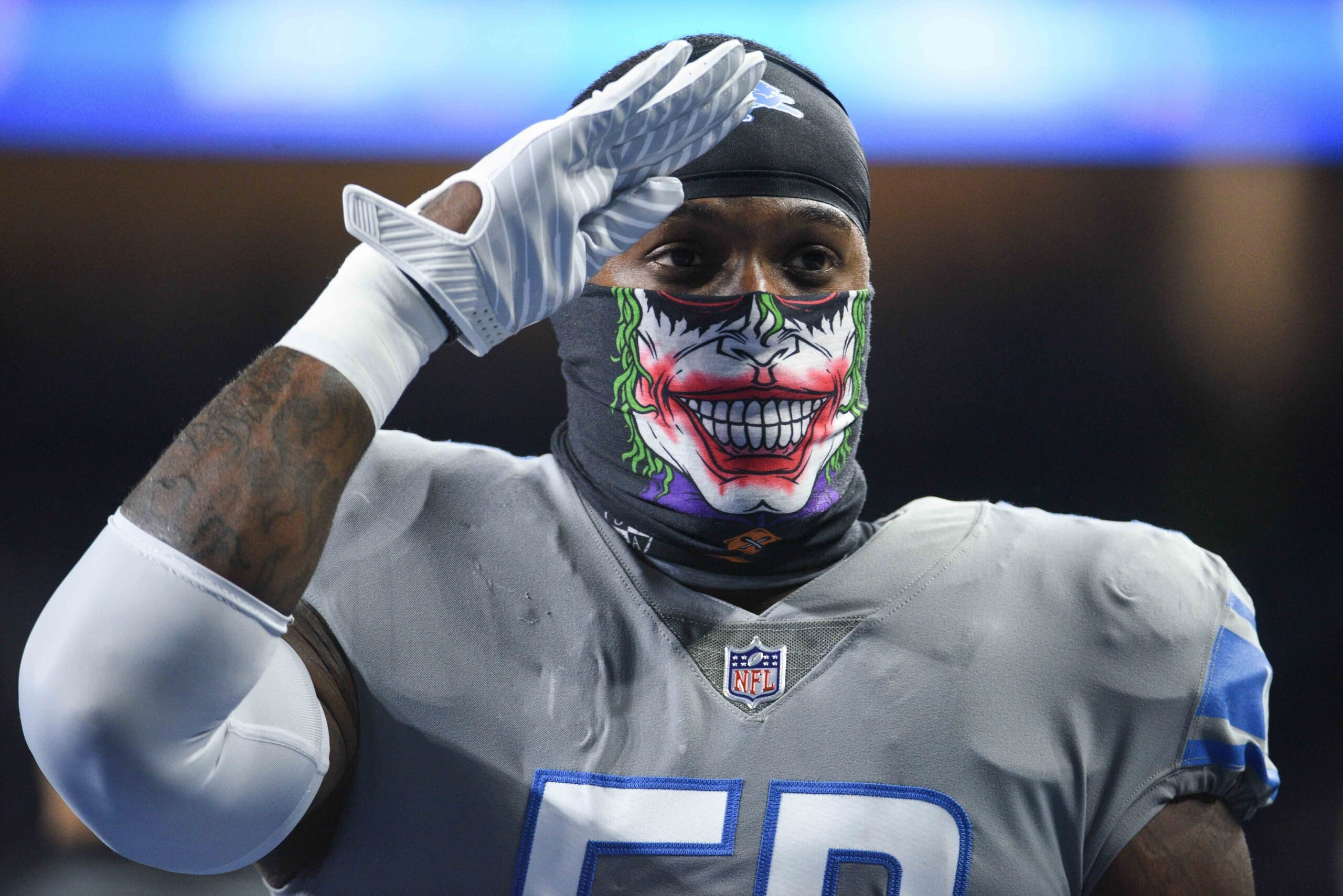 Twitter extremely conflicted about Lions Color Rush uniform