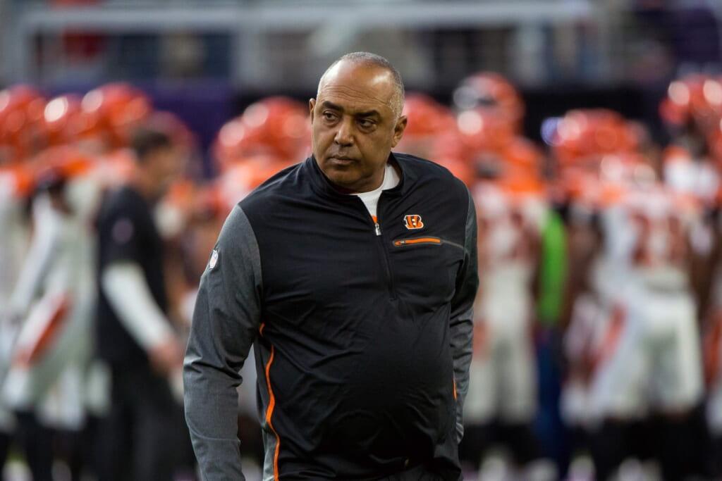 Bengals head coach Marvin Lewis