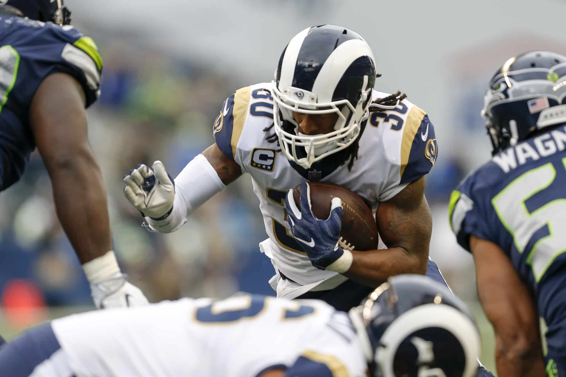 Todd Gurley, sudden MVP candidate.