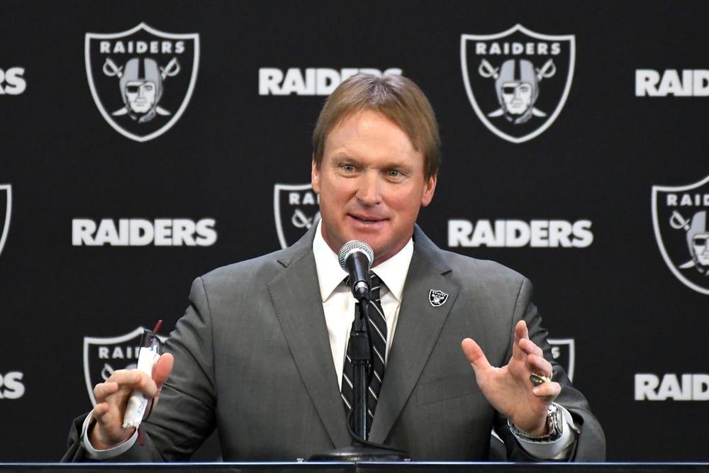 NFL Oakland Raiders Jon Gruden