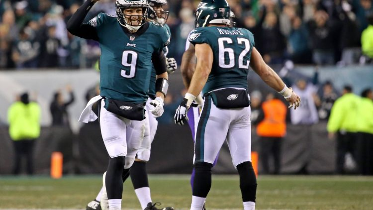 Nick Foles is a huge reason why you shouldn't bet against the Eagles in Super Bowl LII