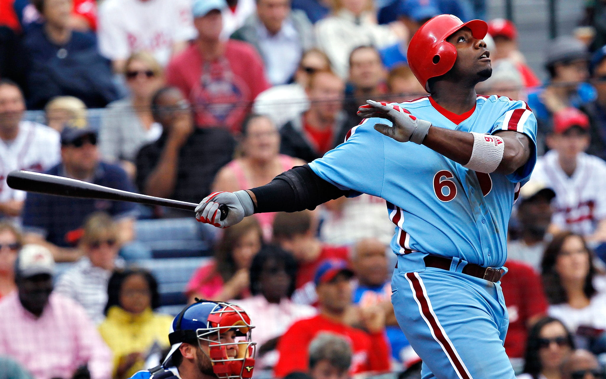 Phillies will wear powder blue throwback uniforms at times in 2018 c9e7c5c5ed1