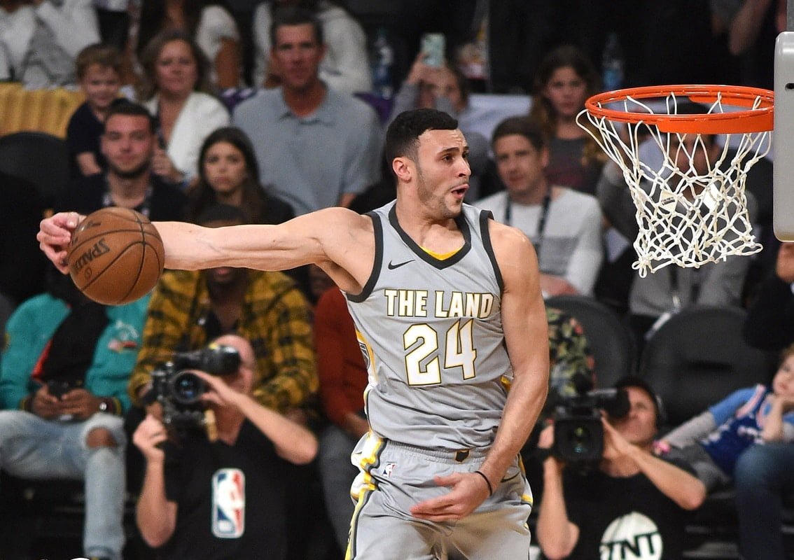 a6a4f4fbb Larry Nance Jr. to wear father s No. 22 for Cavaliers