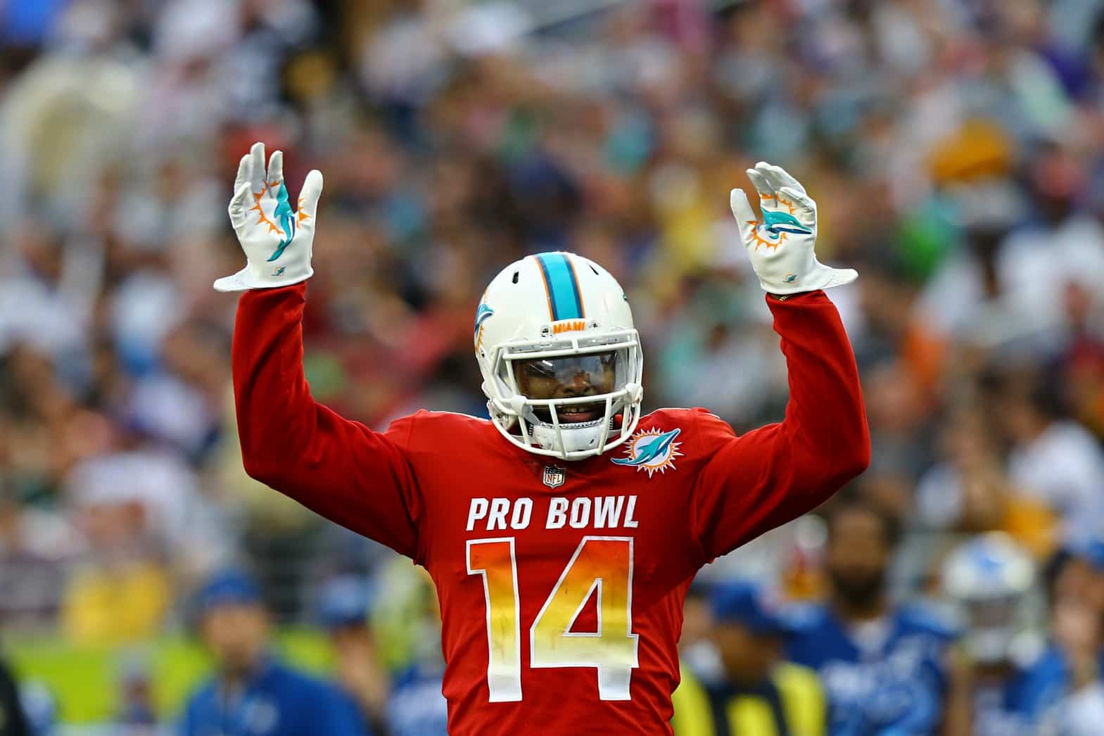 online store 2ae11 e7d79 Report: Dolphins trade WR Jarvis Landry to the Browns