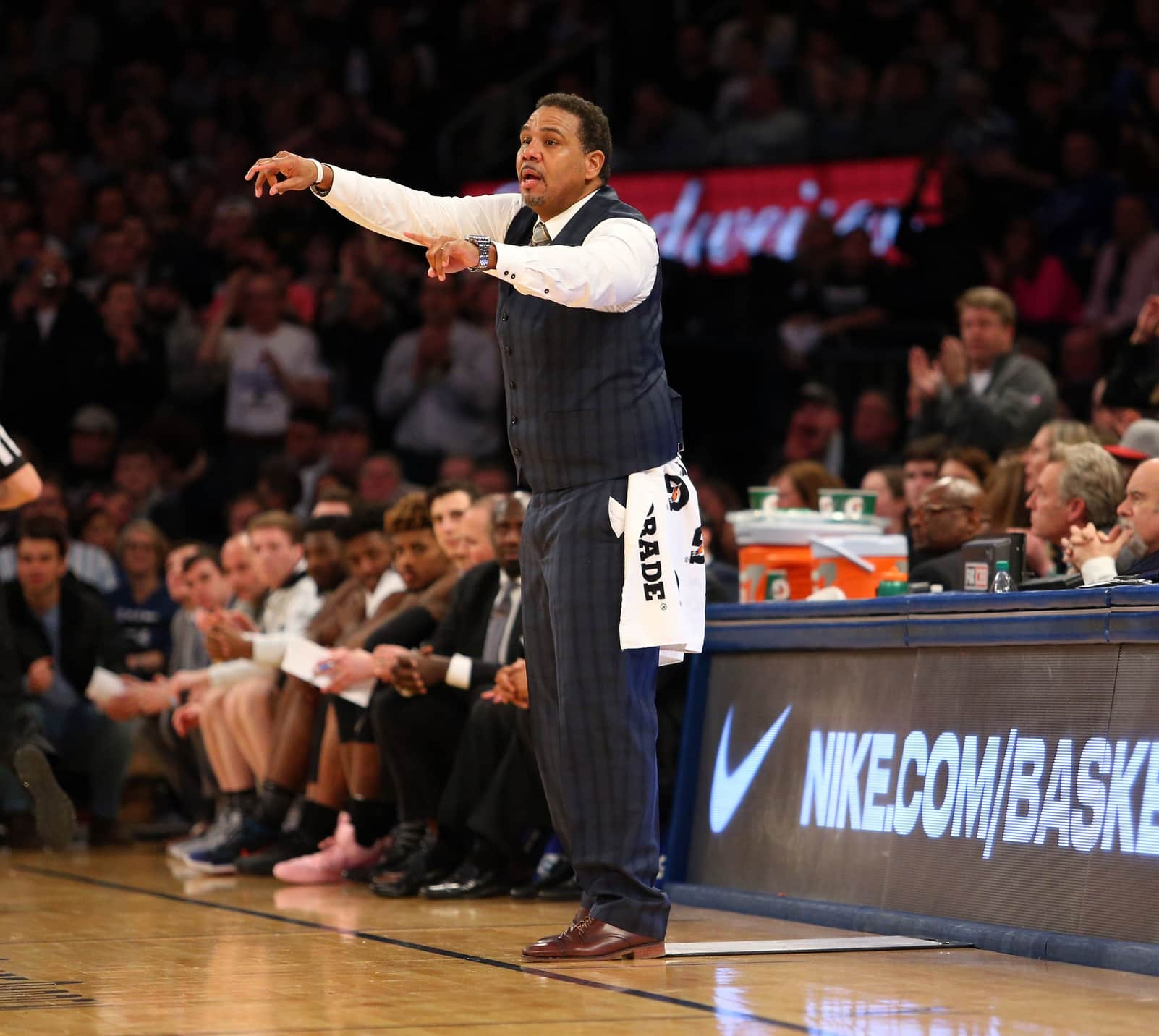 Basketball Sweat Towels: Providence HC Ed Cooley Had Funny Reason For Implementing