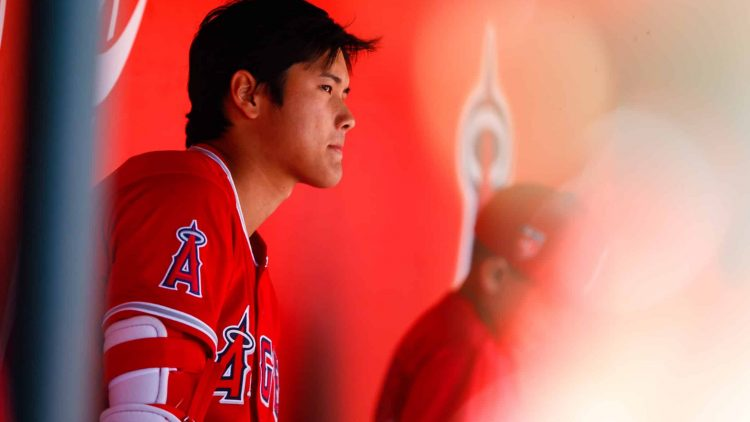 Shohei Ohtani had a rough go if it during 2018 spring training