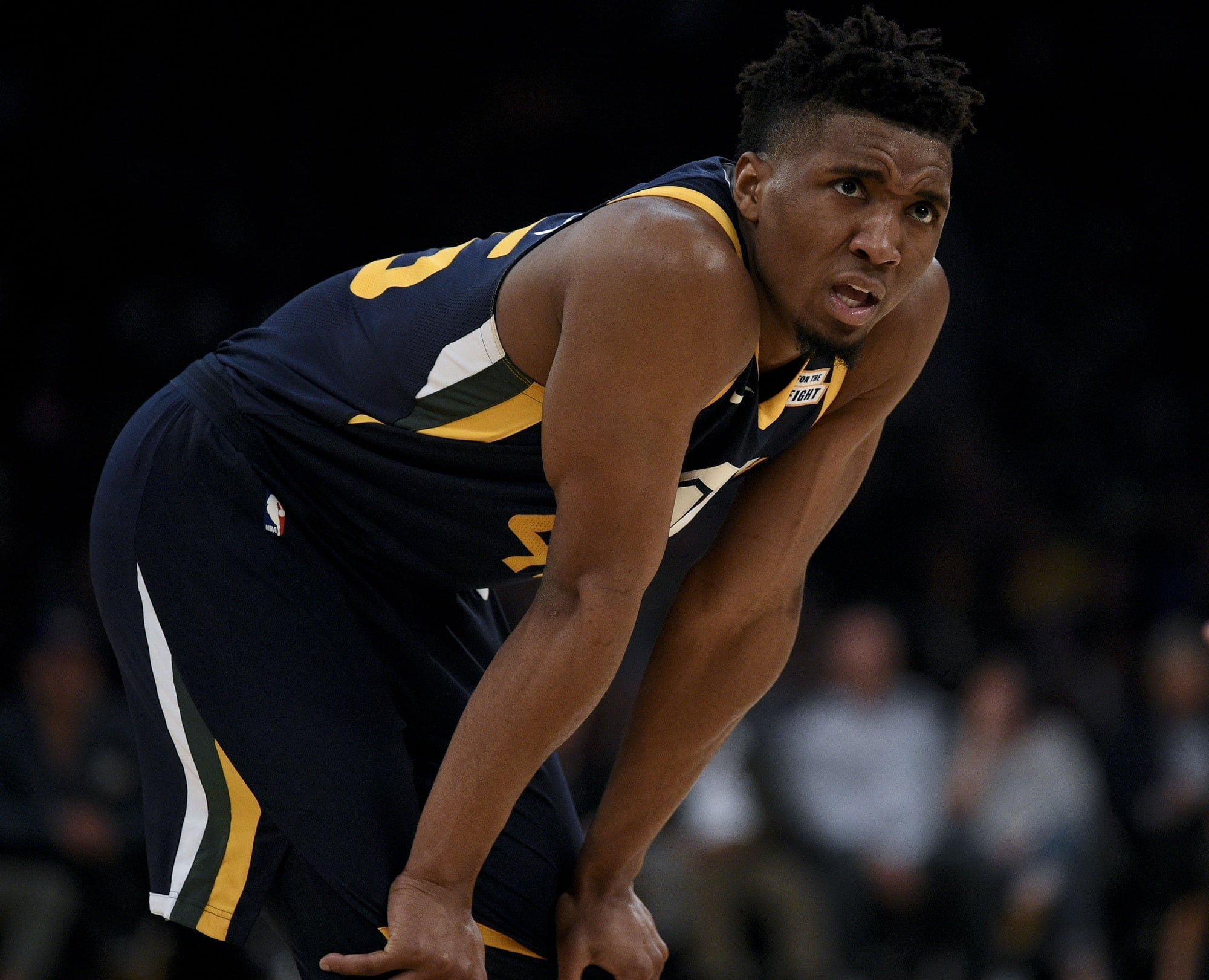 Donovan Mitchell Pokes Ben Simmons With Rookie Definition On Hoodie