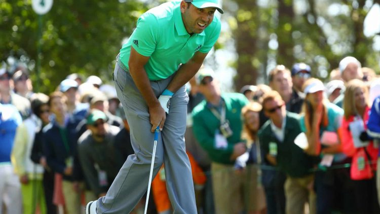 Sergio Garcia had one of the most cringe-worthy moments in Masters history