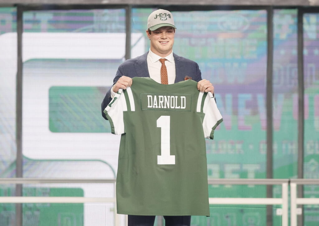 Sam Darnold was the No. 3 overall pick by the New York Jets