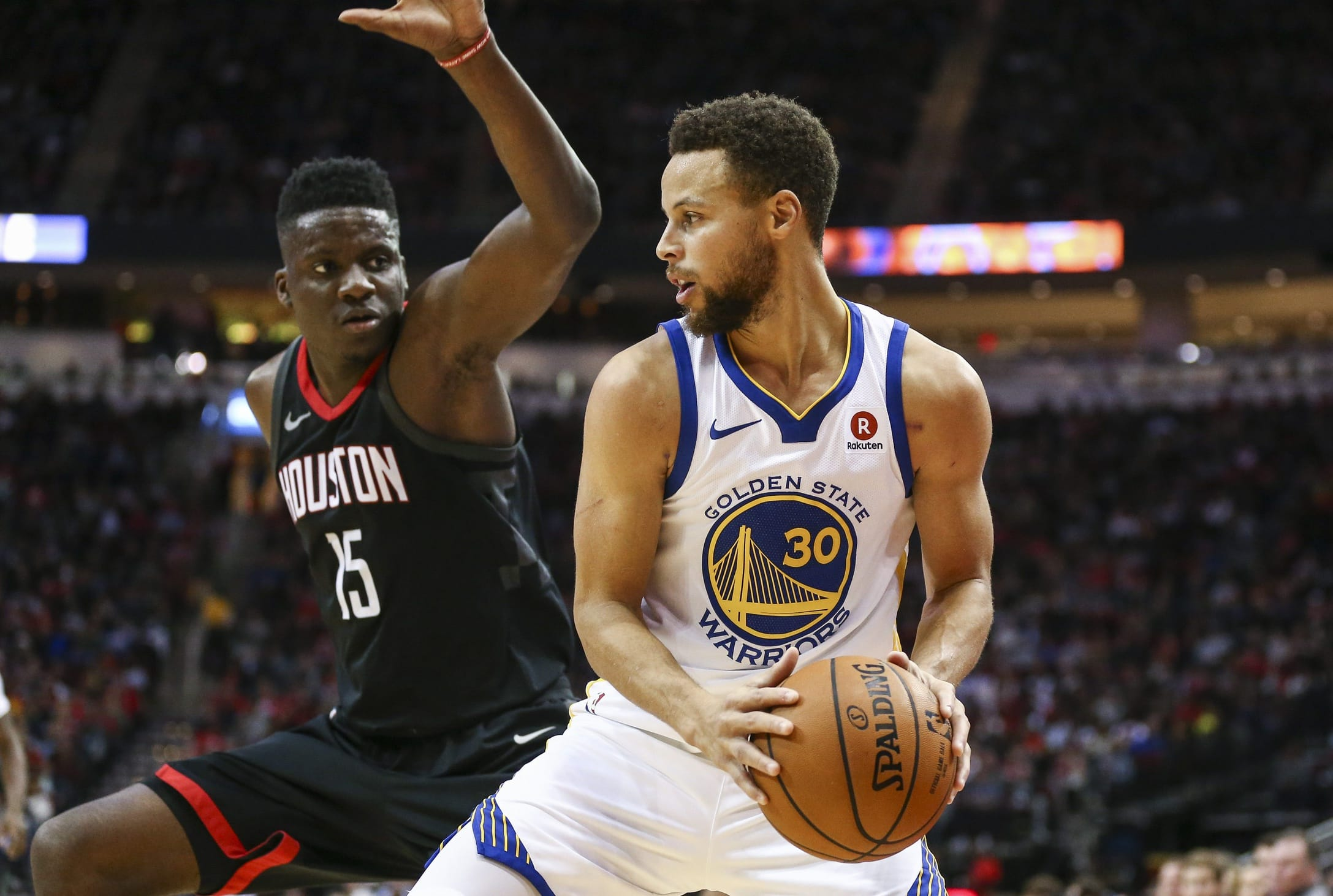 Image result for capela and steph curry