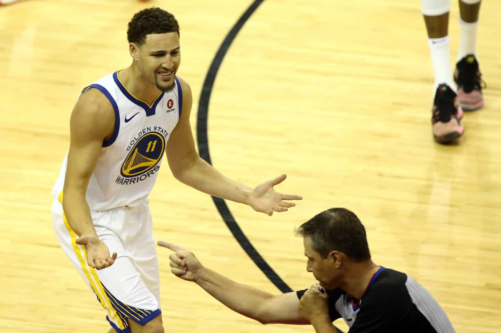 Warriors' Klay Thompson will likely play Game 5 against the Rockets