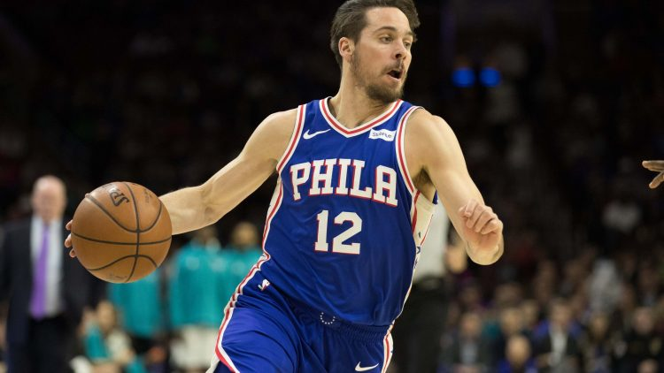 Sixers guard T.J. McConnell