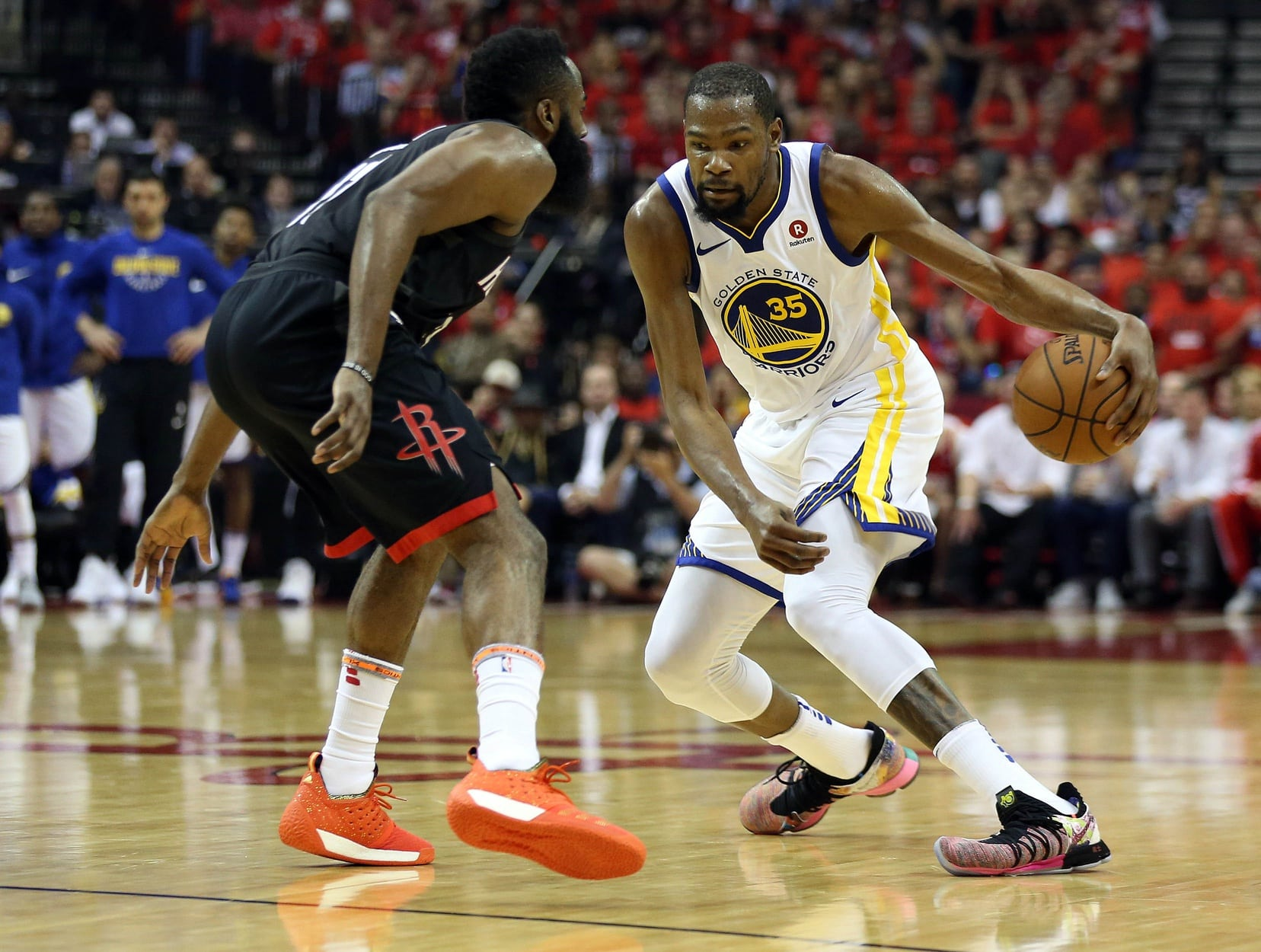 ff5a172b7b9 Kevin Durant throws salt on James Harden s wounds after Game 7