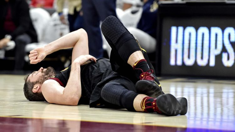 Kevin Love suffered a concussion in Game 6