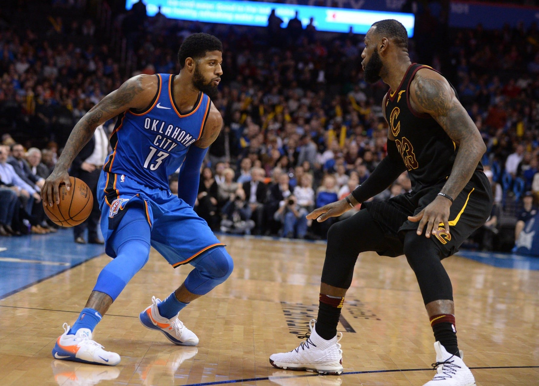 72812b432881 Paul George and LeBron James to the Lakers reportedly  intriguing scenario