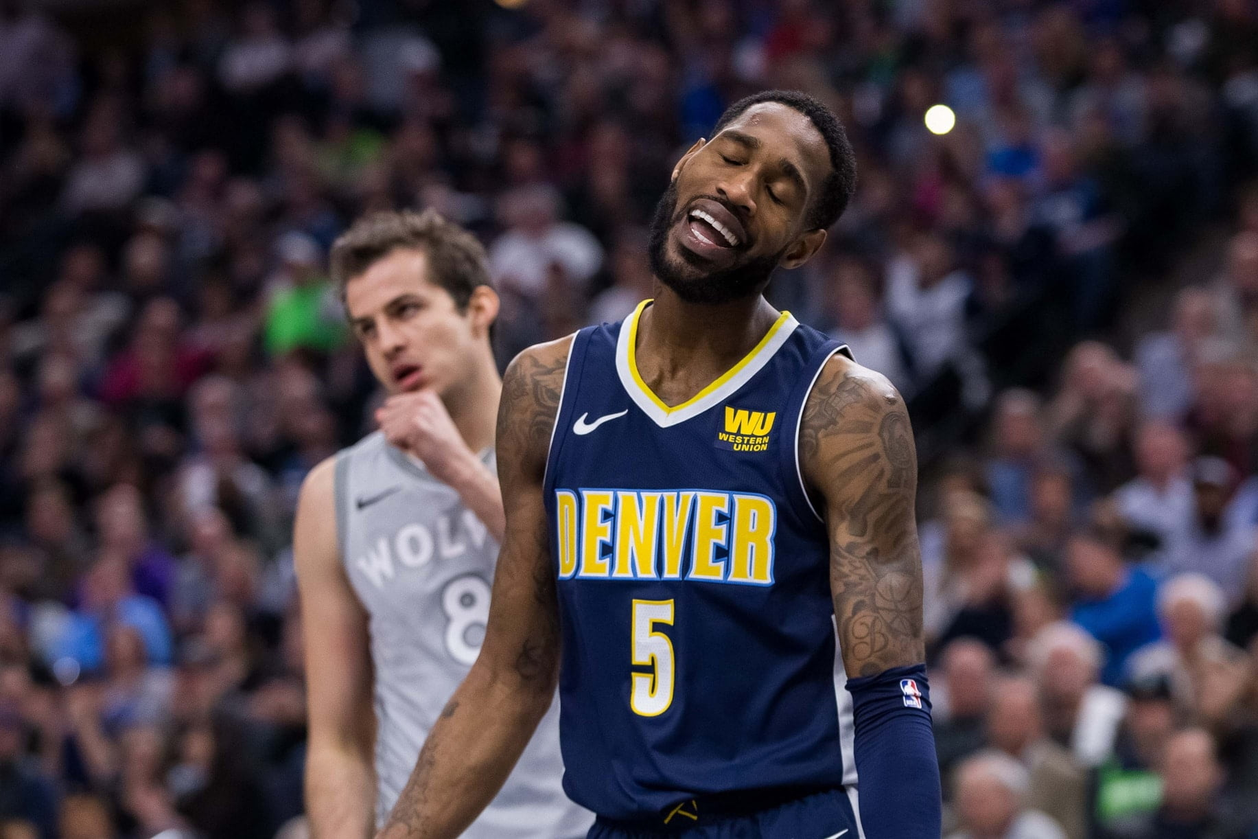 Report: Nuggets close to re-signing Will Barton