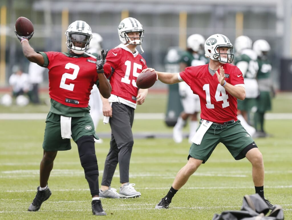 The Jets' three-way competition at quarterback highlights our list of best training camp battles this summer