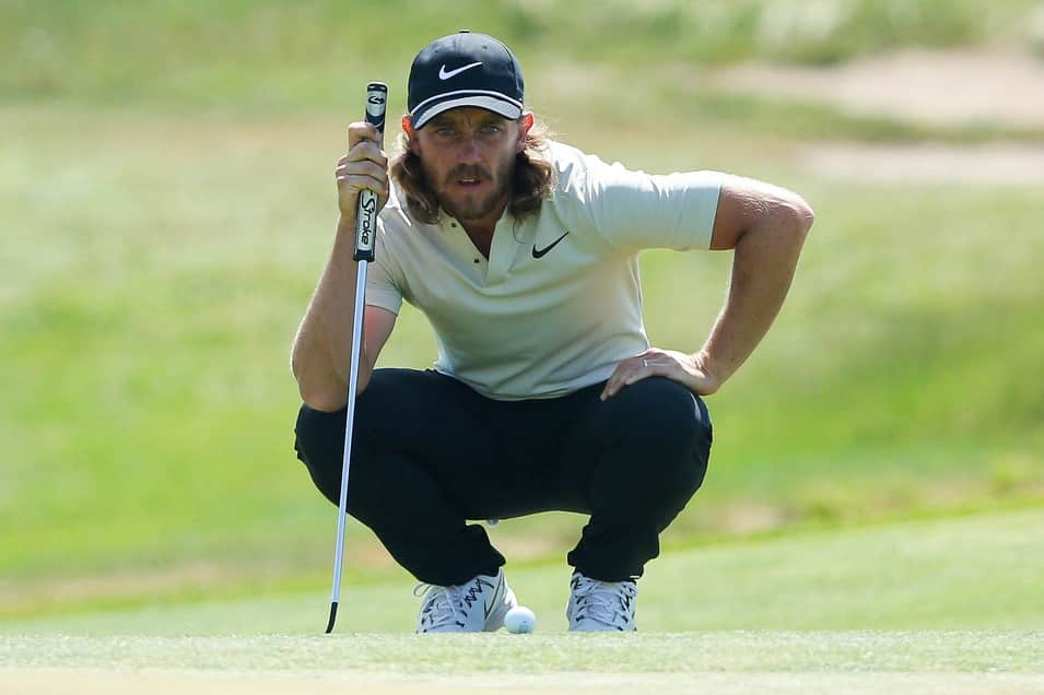 Tommy Fleetwood during the final round of the 2018 U.S. Open